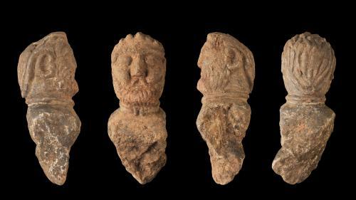 Rare découverte de quatre sculptures gauloises en Bretagne