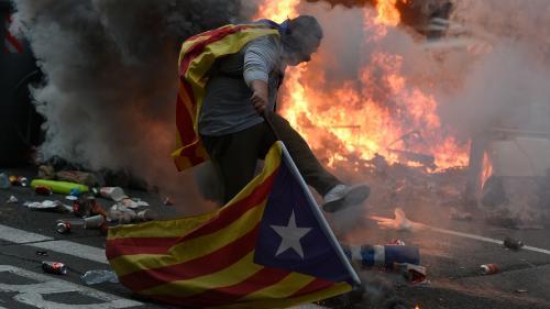 """""""Ils font tout pour que ça dégénère"""" : en Catalogne, les pro-indépendantistes défendent la radicalisation de leur combat"""