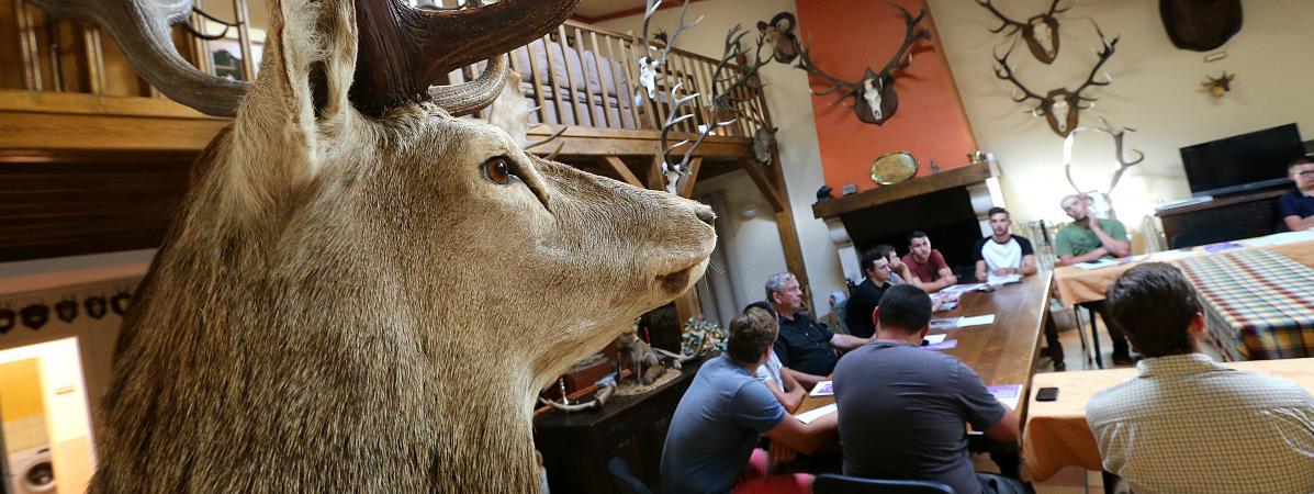 """""""Ne pas tirer est un acte de chasse aussi honorable que de tirer"""" : une école de chasse dans les Ardennes p..."""