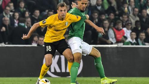 Ligue Europa : Saint-Etienne tenu en échec par le modeste club d'Oleksandrïïa