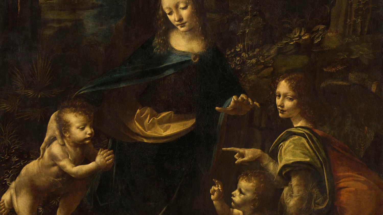 Léonard de Vinci au Louvre : la peinture pour recréer le monde