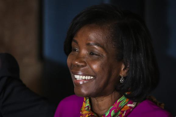 La ministre portugaise de la Justice, Francisca Van Dunem, le 26 octobre 2019 à Lisbonne