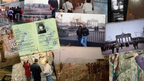 """GRAND FORMAT. """"On se dirige vers la porte de Brandebourg avec des marteaux"""" : ils racontent la chute du mur de Berlin"""