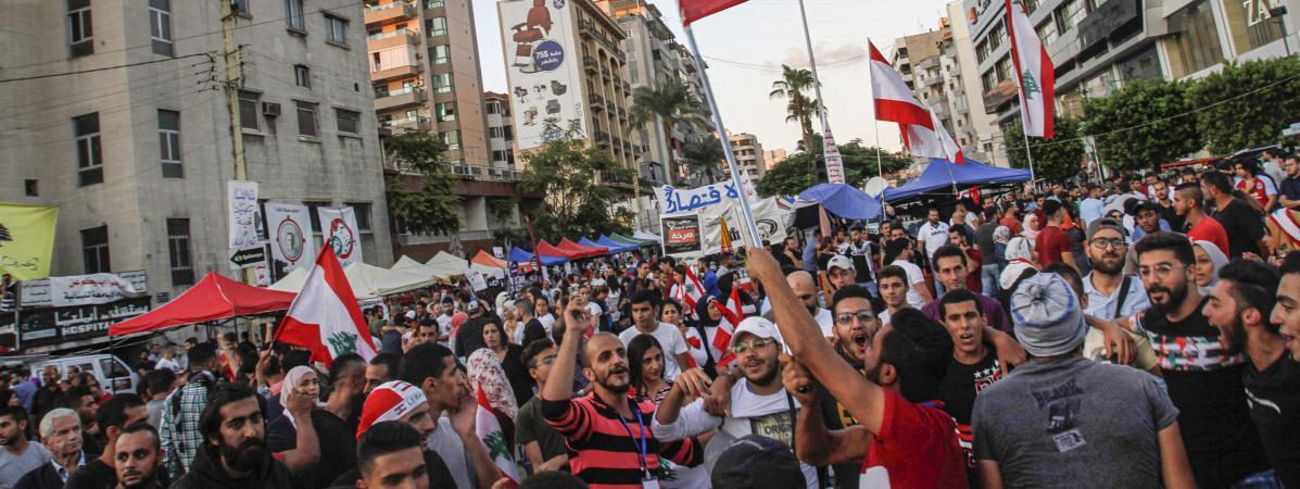 """Démission du Premier ministre libanais : un """"premier pas politique important"""" après deux semaines de contes..."""
