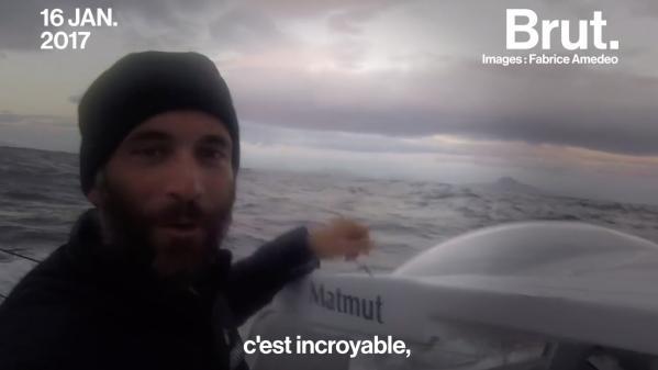 """VIDEO. """"J'ai eu envie de partir me confronter à moi-même"""" : De journaliste à skipper, il raconte son changement de vie"""