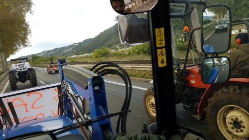 Alpes-Maritimes : inquiets pour l'avenir de leur profession, les agriculteurs manifestent à Nice
