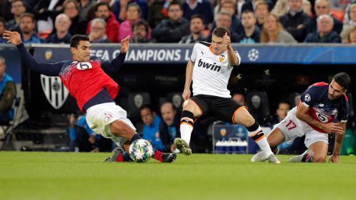 Foot : Lille s'effondre à Valence et dit adieu à la Ligue des champions