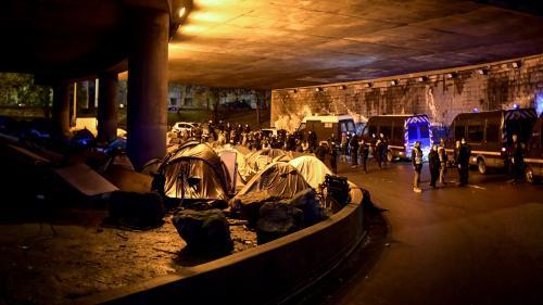 Paris : plusieurs camps de migrants évacués dans le nord de la capitale