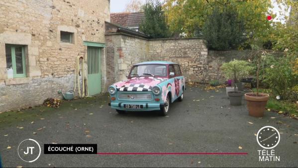 Chute du mur de Berlin : la Trabant, symbole de l'ex-RDA