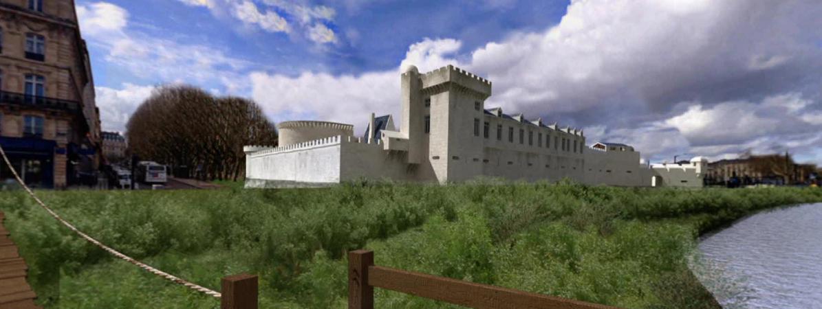 Quand des monuments du 15e siècle réapparaissent au coeur de Bordeaux grâce à la 3D