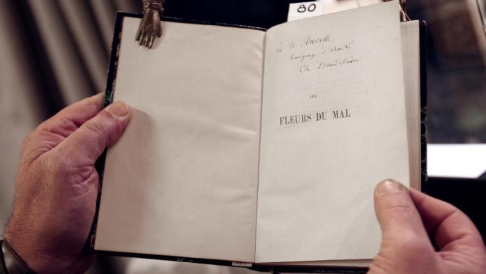 """Une strophe inédite des """"Fleurs du mal"""" de Baudelaire découverte dans une édition originale"""