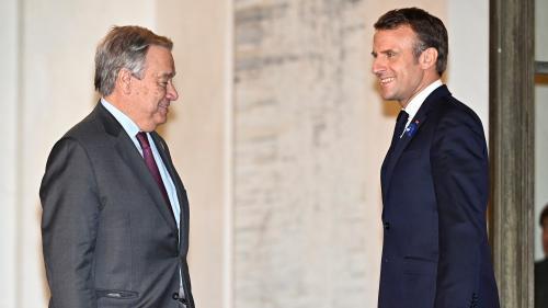 DIRECT. Suivez le discours d'Emmanuel Macron au Forum de Paris pour la paix
