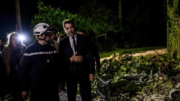 """Séisme en Drôme-Ardèche : la demande de catastrophe naturelle sera examinée """"dès mercredi prochain"""", promet Christophe Castaner"""