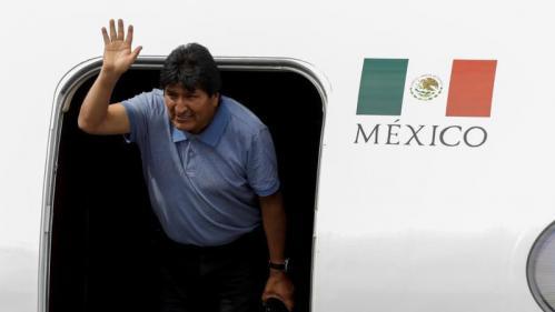 Bolivie : l'ancien président Evo Morales est arrivé au Mexique qui lui a accordé l'asile politique