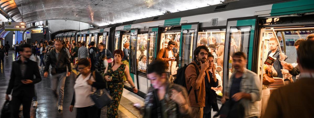 Paris : le nombre de vols à la tire dans le métro a explosé depuis le début de l'année