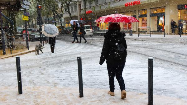 200 000 foyers privés d'électricité, routes bloquées, trafic SNCF au ralenti... D'importantes chutes de neige perturbent le Sud-Est