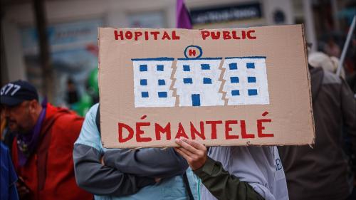 DIRECT. Mobilisation dans l'hôpital public : les professionnels de santé manifestent pour réclamer davantage de moyens et d'effectifs