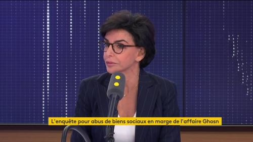 "VIDEO. Rachida Dati : ""Je ne laisserai pas des salopards tenter de me déstabiliser"""