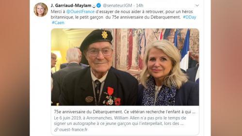 Un vétéran britannique recherche un petit Français rencontré lors du 75e anniversaire du D-Day