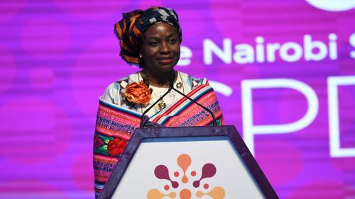 Le Kenya, pays hôte du Sommet international sur la population, s'engage à éradiquer l'excision d'ici 2022