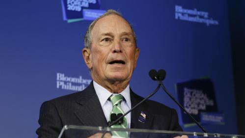 Etats-Unis : pas encore candidat à la Maison Blanche, le milliardaire Michael Bloomberg s'offre 100 millions de dollars de publicités anti-Trump