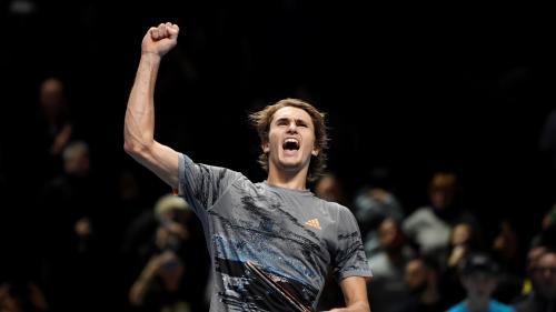 Tennis : Alexander Zverev dans le dernier carré des Masters de Londres, Rafael Nadal éliminé