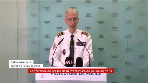 """VIDEO. """"Gilets jaunes"""" : la situation est """"parfaitement sous contrôle"""", assure le préfet de police de Paris"""