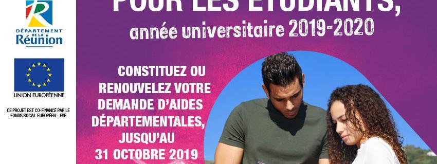 Le journal des Outre-mers. La précarité aussi pour les étudiants à La Réunion, 44% sont obligés de travailler