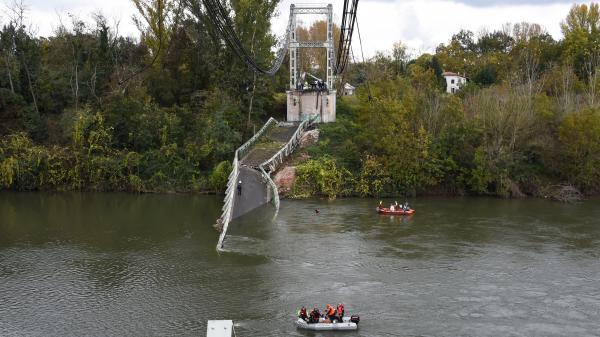 Effondrement d'un pont en Haute-Garonne:Mirepoix-sur-Tarn se réveille sous le choc