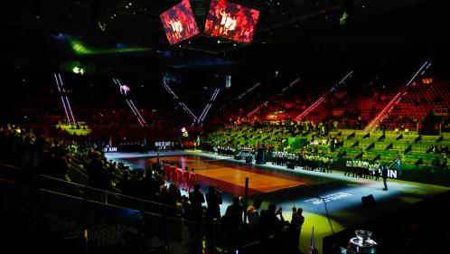 Tennis : au premier jour de la Coupe Davis, la nouvelle formule n'attire pas les foules