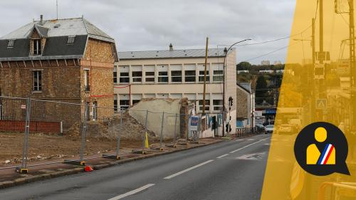 Classes dans des préfabriqués, toilettes dans la cour… A Savigny-sur-Orge, le maire pointé du doigt pour le retard d'un chantier scolaire