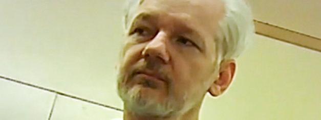 Une photo de Julian Assange, le fondateur de WikiLeaks, issue d\'une vidéo le 9 juin 2019 à Londres.