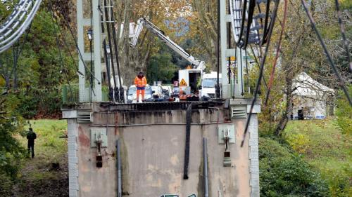 VIDEO. Effondrement d'un pont à Mirepoix-sur-Tarn : découvrez l'étendue des dégâts vus d'un drone