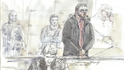 Au premier jour de son procès, les larmes de Bilal Taghi, jugé pour avoir tenté d'assassiner deux surveillants de prison