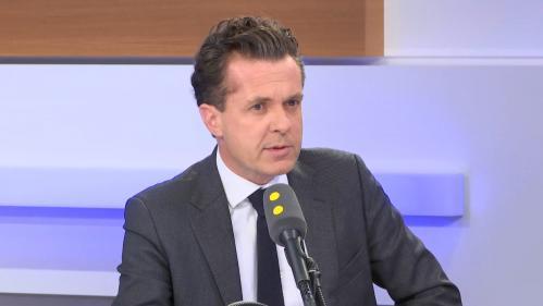 """Listes communautaires aux municipales : """"Sortir certaines idées du champ, cela ne les fait pas disparaître"""" estime le maire d'Angers, Christophe Béchu"""