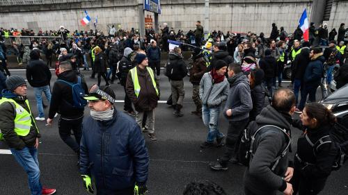 """""""Gilets jaunes"""" : les organisateurs de la manifestation à Paris fustigent la préfecture de police"""