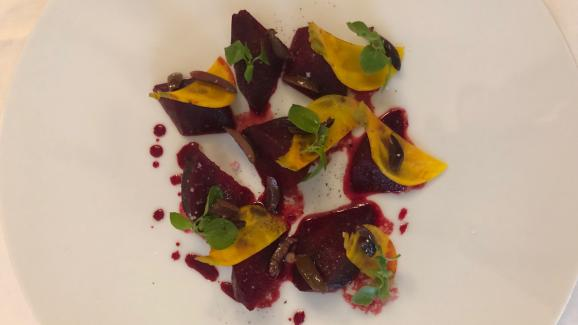 Cooked and raw beets from Omar Dhiab