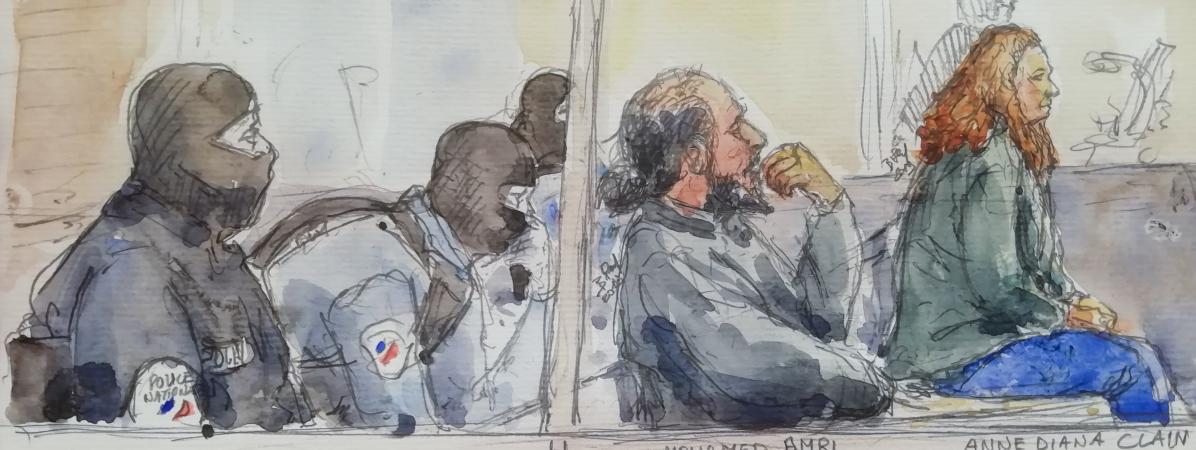 La sœur aînée des frères Clain, les voix françaises de l'Etat islamique, condamnée à neuf ans de prison pou...