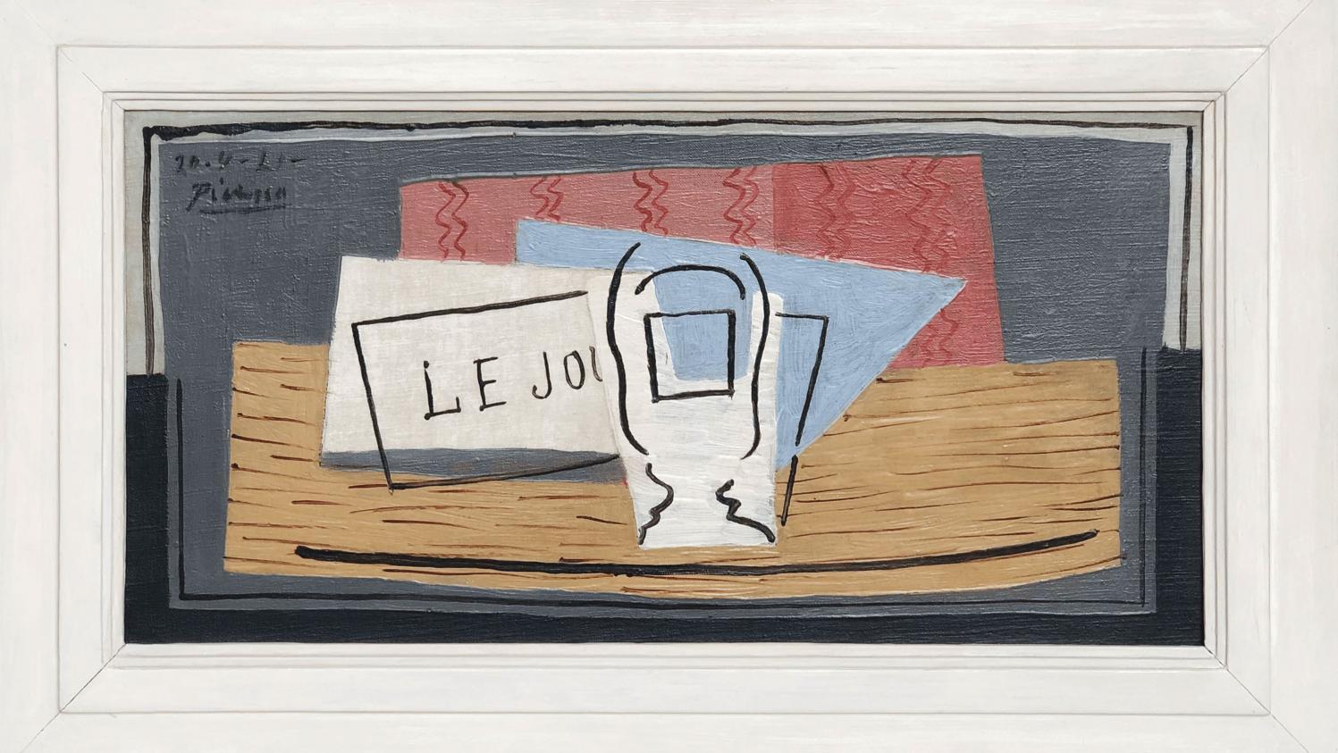 Tableau Pour Mettre Dans Les Toilettes un picasso pour 100 euros : une loterie caritative promet un