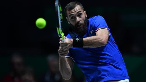 Tennis : la France éliminée de la Coupe Davis par la Serbie après la défaite de Benoit Paire face à Novak Djokovic