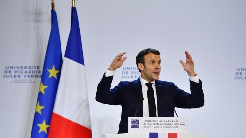 """""""Il n'y a pas de liberté de casser"""", met en garde Emmanuel Macron avant la grève du 5 décembre"""
