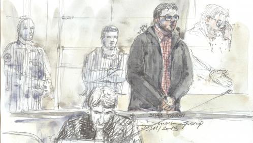 Le détenu Bilal Taghi condamné à 28 ans de réclusion pour le premier attentat jihadiste en prison, commis en 2016