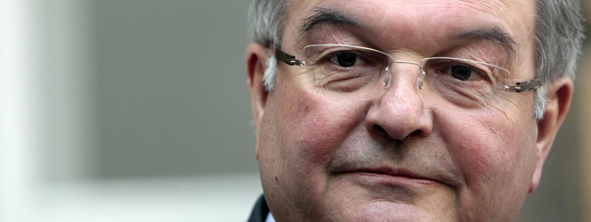 Michel Mercier, le 29 mars 2012.