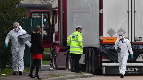 Camion charnier en Angleterre : les 13 personnes interpellées en France ont été mises en examen