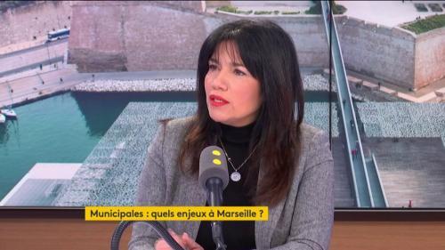 """VIDEO. Municipales à Marseille : """"J'ai envie"""" d'être candidate, assure la sénatrice Samia Ghali, """"Marseille c'est toute ma vie"""""""