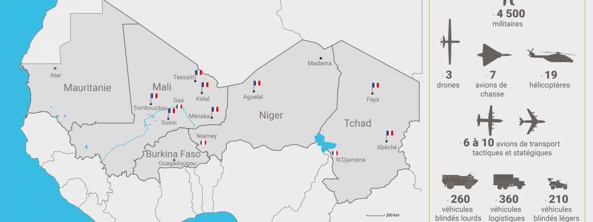L'opération Barkhane sert-elle à protéger les mines d'uranium françaises au Sahel ?