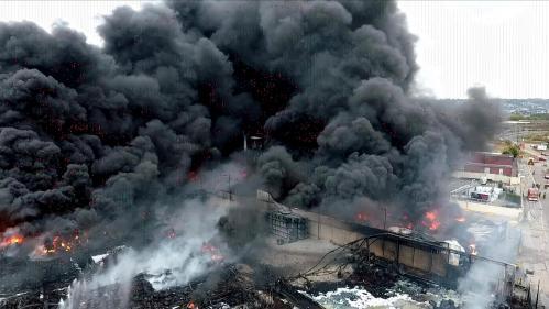 Incendie de l'usine Lubrizol : l'Anses recommande de poursuivre les prélèvements sur certains aliments pendant un an