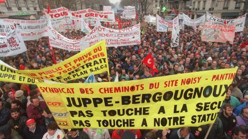 Grève du 5 décembre : pourquoi les grandes grèves de 1995 sont-elles évoquées ?
