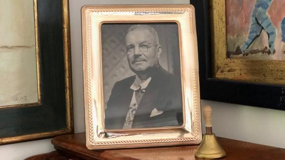 L\'ancien président chilienCarlos Ibáñez del Campo (1927-1931 et 1952-1958).