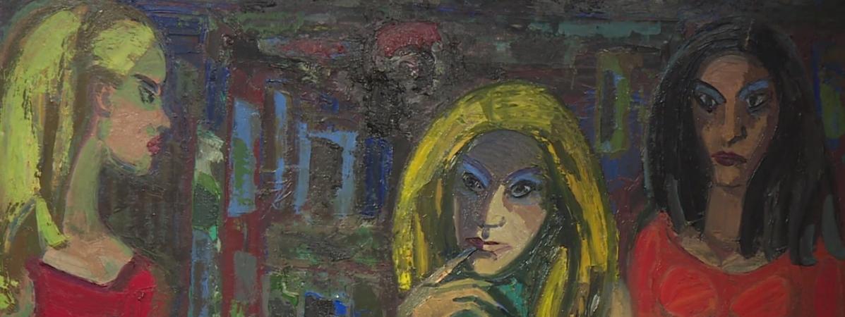 """Exposition \""""Portraits et compositions\"""" de Jean Couty - Lyon"""